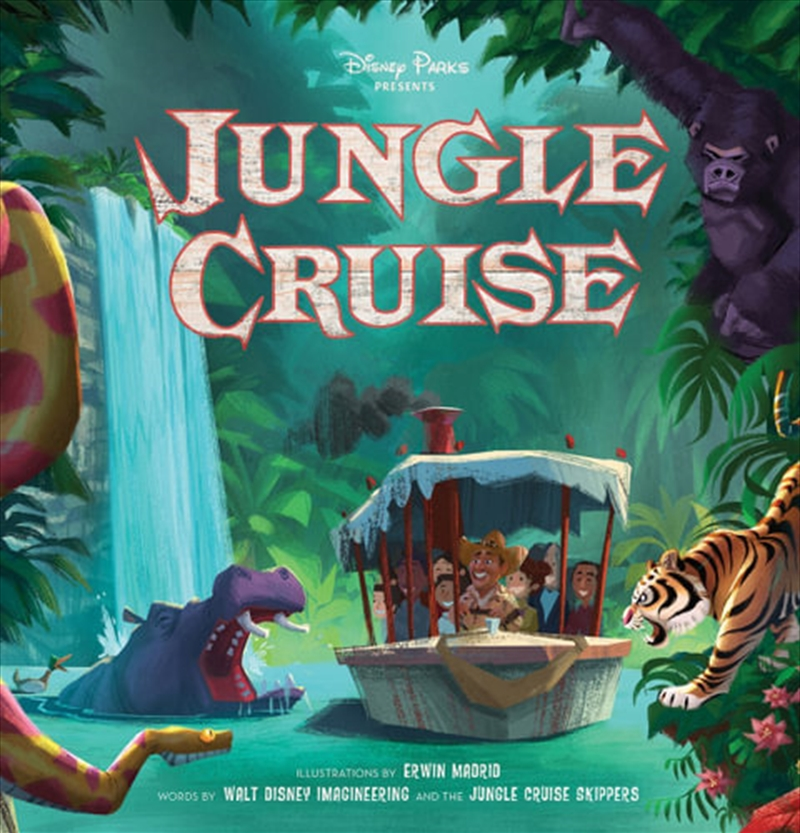 Jungle Cruise Deluxe Storybook (disney). | Books
