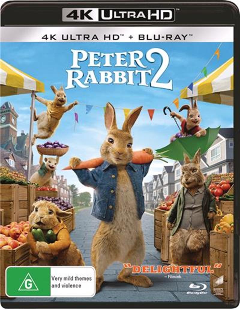 Peter Rabbit 2 - The Runaway   Blu-ray + UHD   UHD