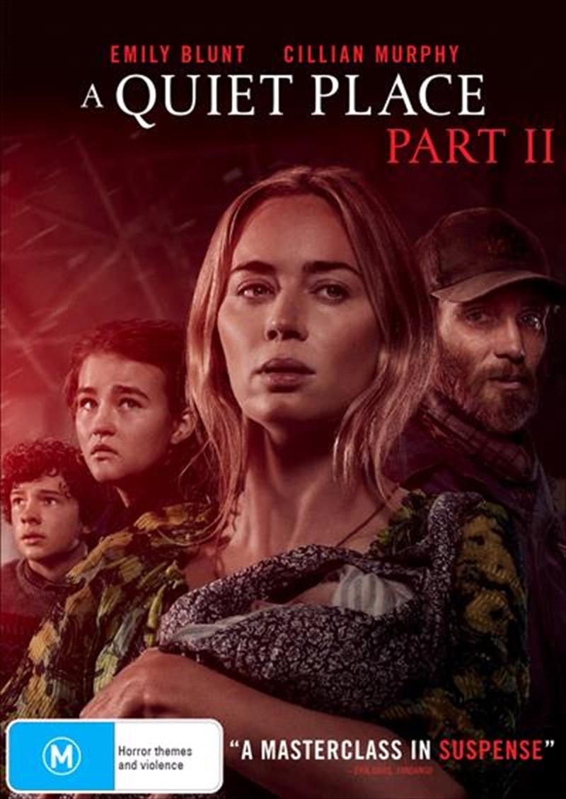 A Quiet Place - Part 2   DVD