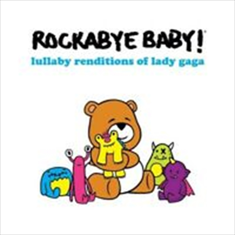 Lullaby Renditions Of Lady Gaga   CD
