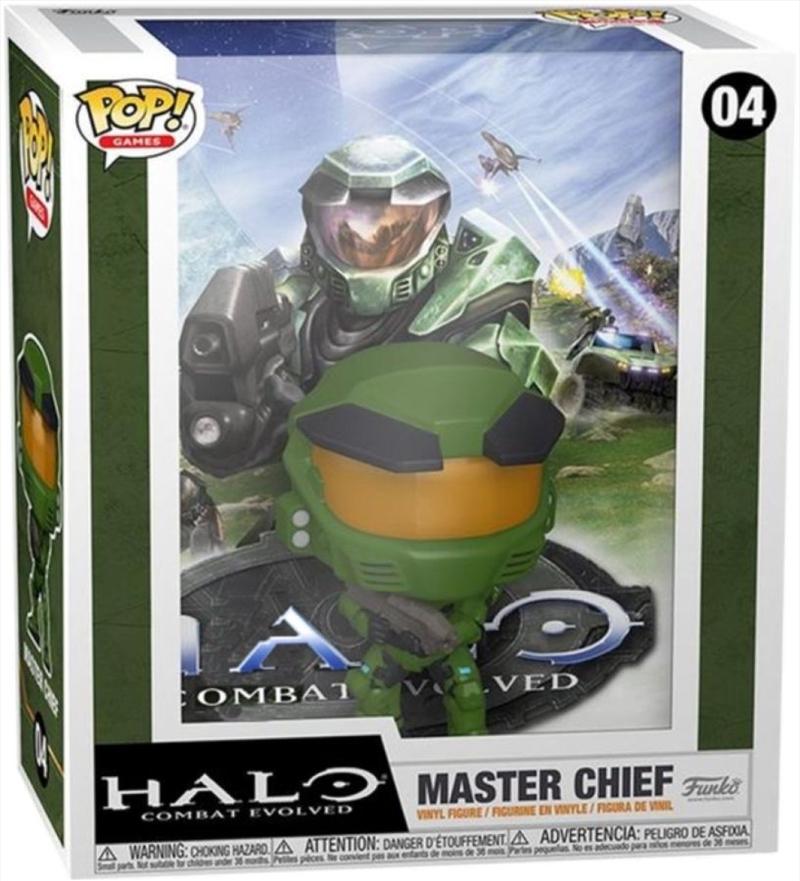 Halo - Master Chief Metallic US Exclusive Pop! Cover [RS]   Pop Vinyl