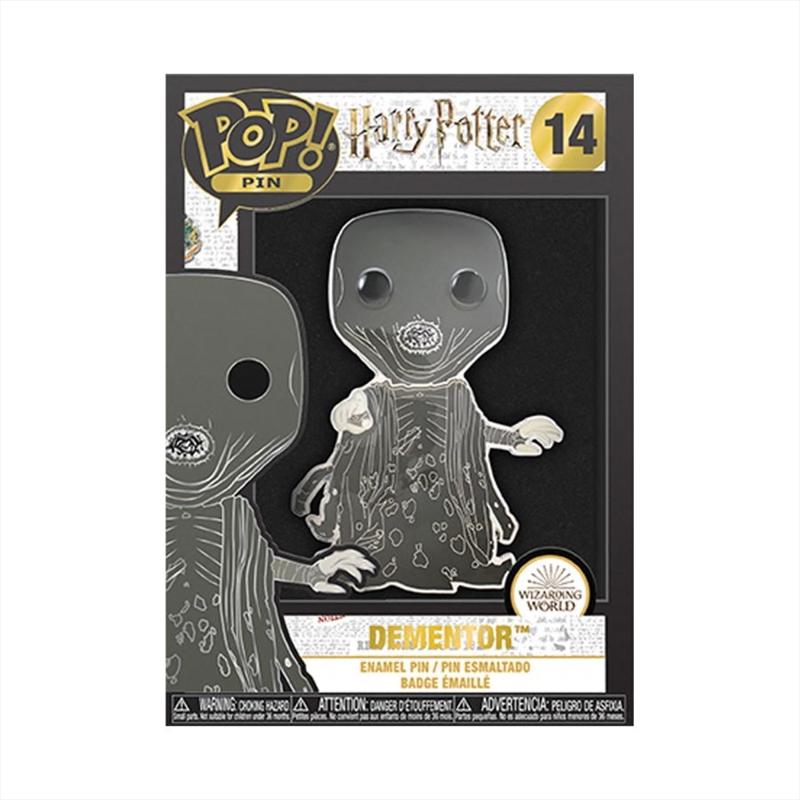 """Harry Potter - Dementor 4"""" Pop! Enamel Pin   Merchandise"""