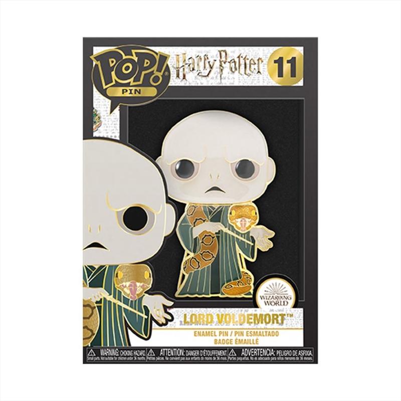 """Harry Potter - Voldemort & Nagini 4"""" Pop! Enamel Pin   Merchandise"""