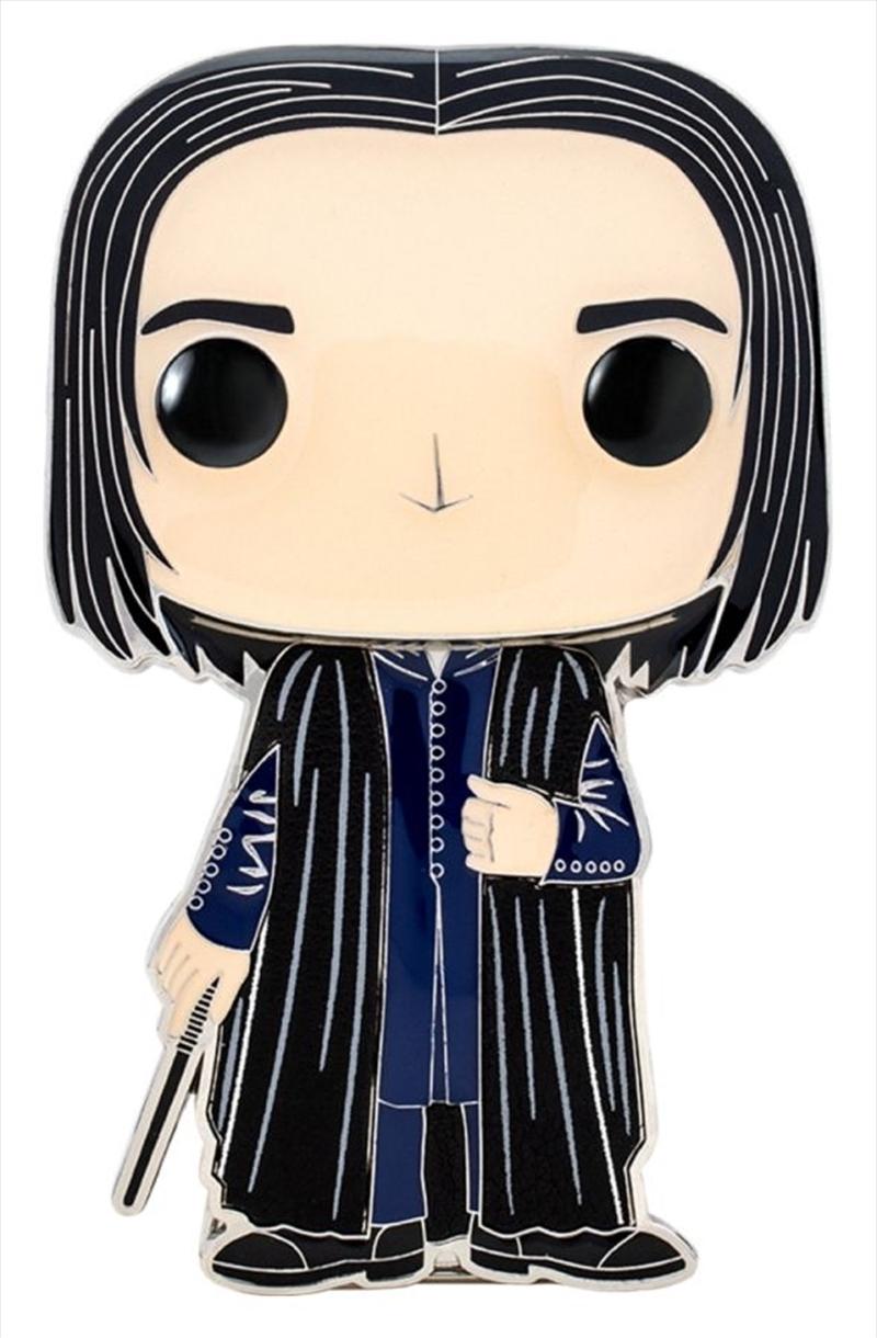 "Harry Potter - Severus Snape 4"" Pop! Enamel Pin | Merchandise"