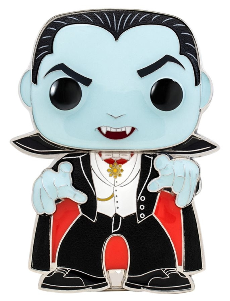 "Universal Monsters - Dracula 4"" Pop! Enamel Pin | Merchandise"
