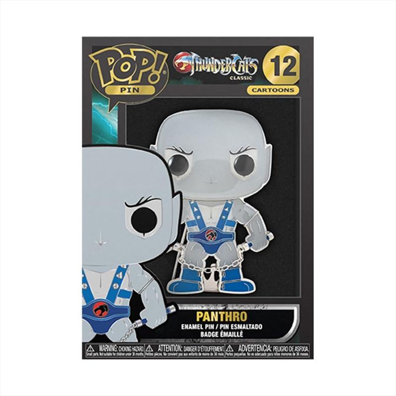 "Thundercats - Panthro 4"" Pop! Enamel Pin   Merchandise"