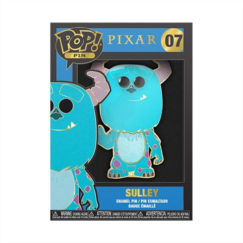 "Monsters Inc - Sulley 4"" Pop! Enamel Pin   Merchandise"