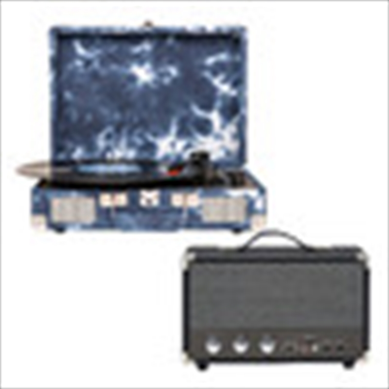 Indigo Crosley Cruiser Bluetooth Portable Turntable with Speaker | Hardware Electrical
