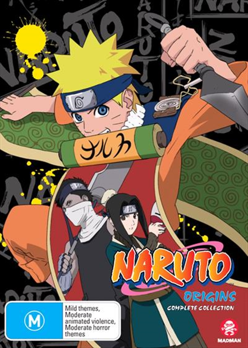 Naruto Origins - Limited Edition | Complete Series | DVD