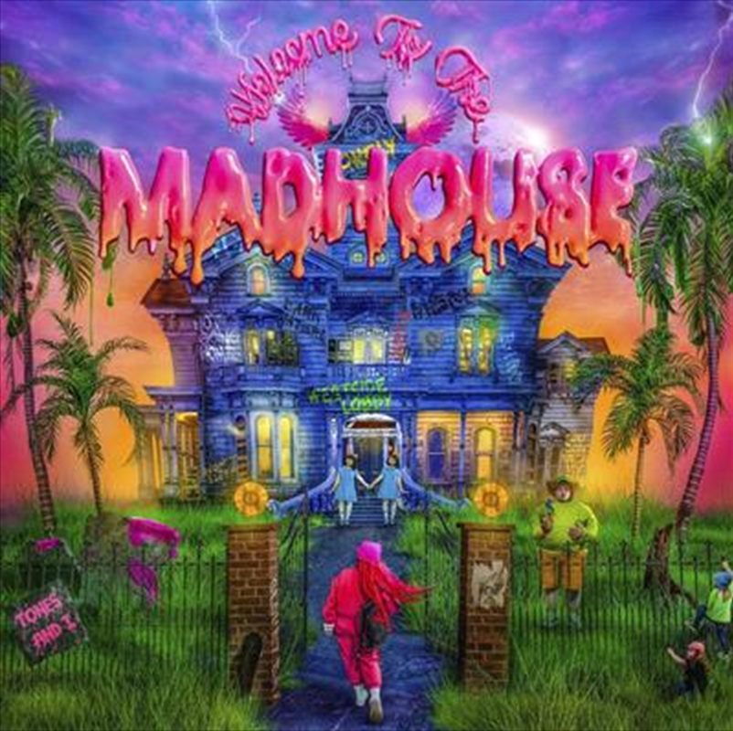 Welcome to the Madhouse (SIGNED COPY)   Vinyl