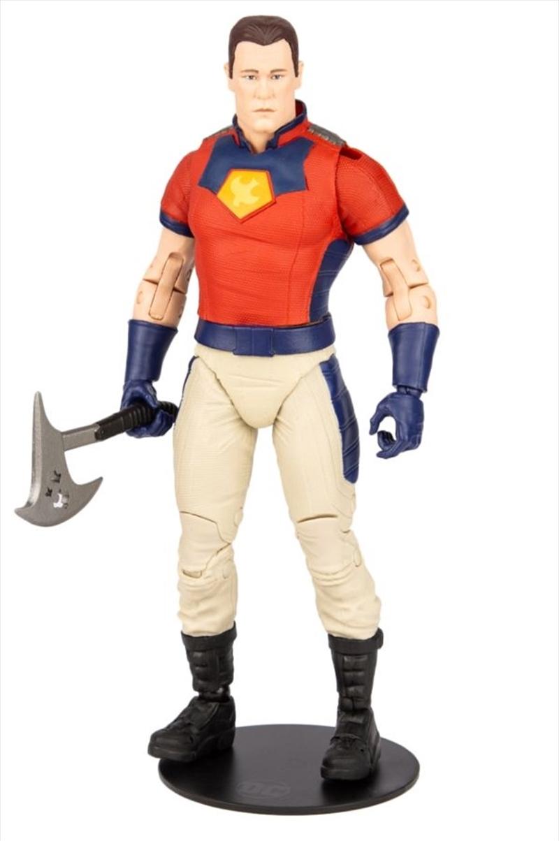 """The Suicide Squad - Peace Maker Unmasked 7"""" Action Figure   Merchandise"""