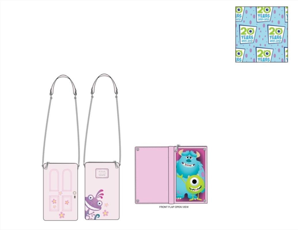 Loungefly - Monsters Inc - Boo's Door Crossbody Bag   Apparel