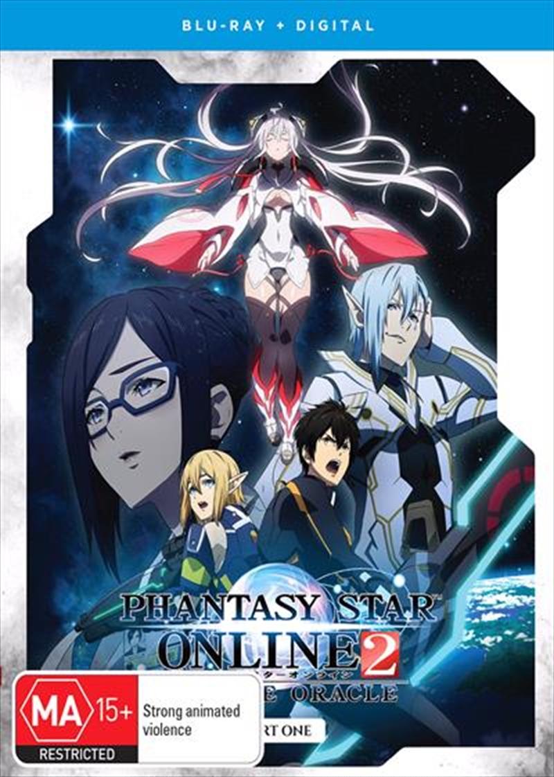 Phantasy Star Online 2 - Episode Oracle - Season 1 - Part 1 - Eps 1-12 | Subtitled Edition | Blu-ray
