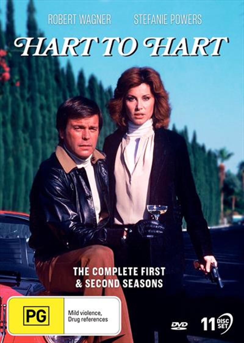 Hart To Hart - Season 1-2   Collection   DVD