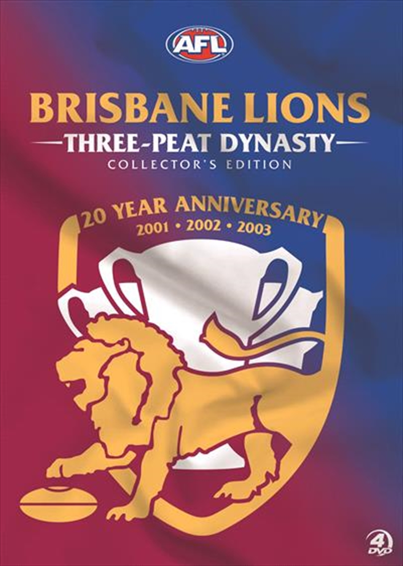 AFL - Brisbane Lions Three-Peat Dynasty 2001-2003 | Collector's Edition | DVD