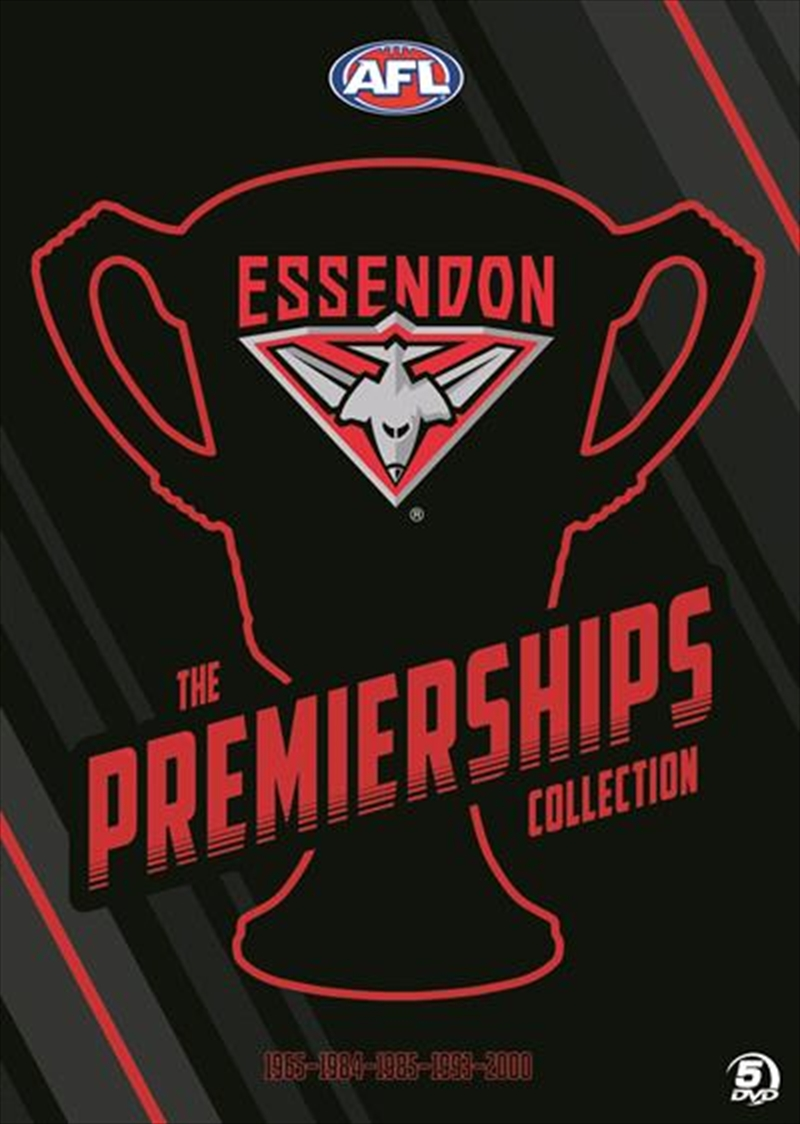 AFL - Essendon   Premierships Collection   DVD