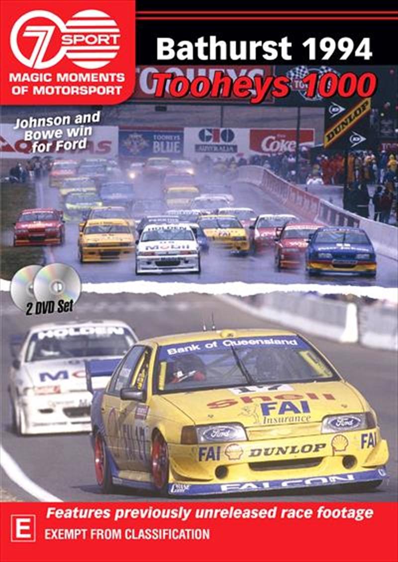 Magic Moments Of Motorsport - 1994 Tooheys 1000   DVD