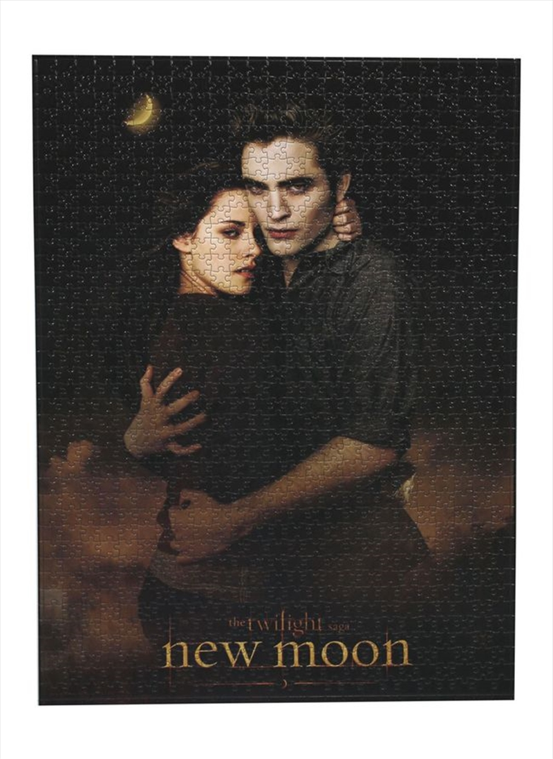 The Twilight Saga: New Moon - Jigsaw Puzzle Ed & Bella 2-Shot   Merchandise