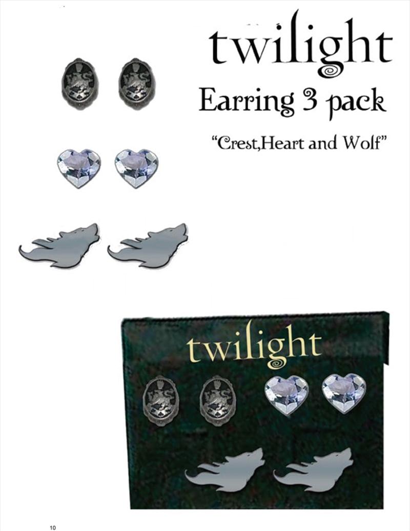 Twilight Earrings 3 Pack | Merchandise