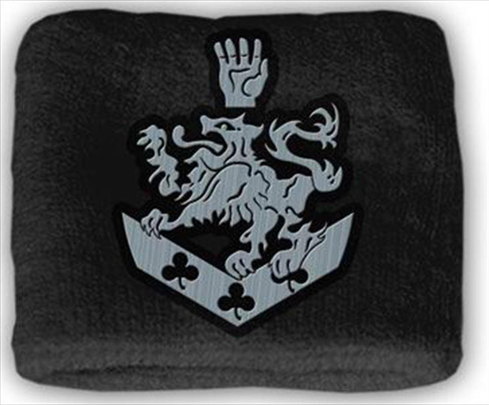 Twilight Terry Cloth Cullen Crest Wristband | Merchandise