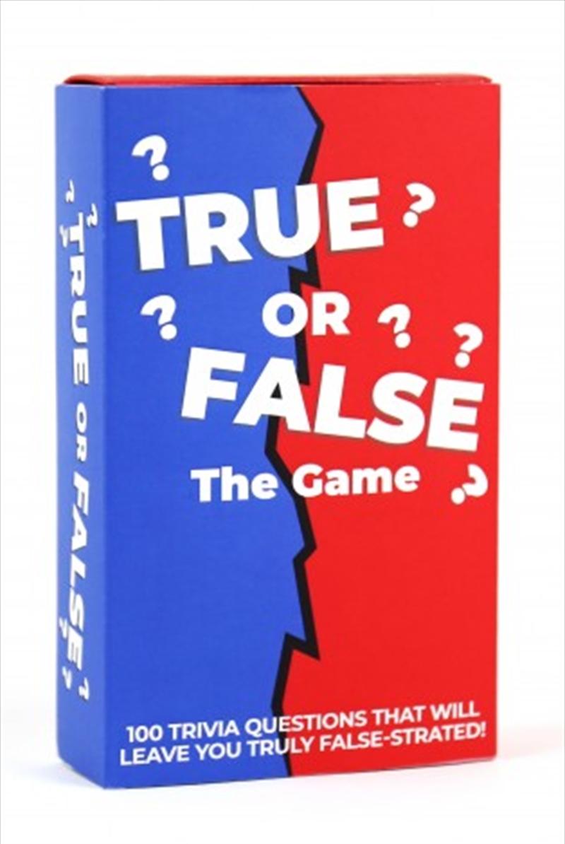 True Or False Trivia Cards | Merchandise