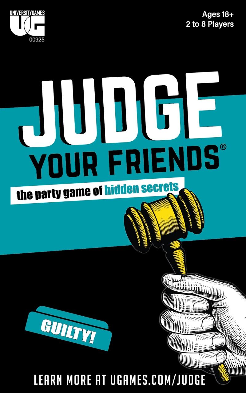 Judge Your Friends   Merchandise