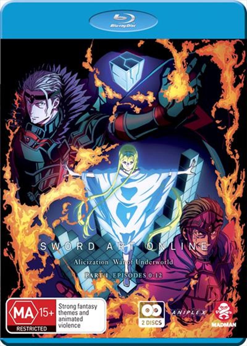 Sword Art Online Alicization - War Of Underworld - Part 1 - Eps 0-12 | Blu-ray