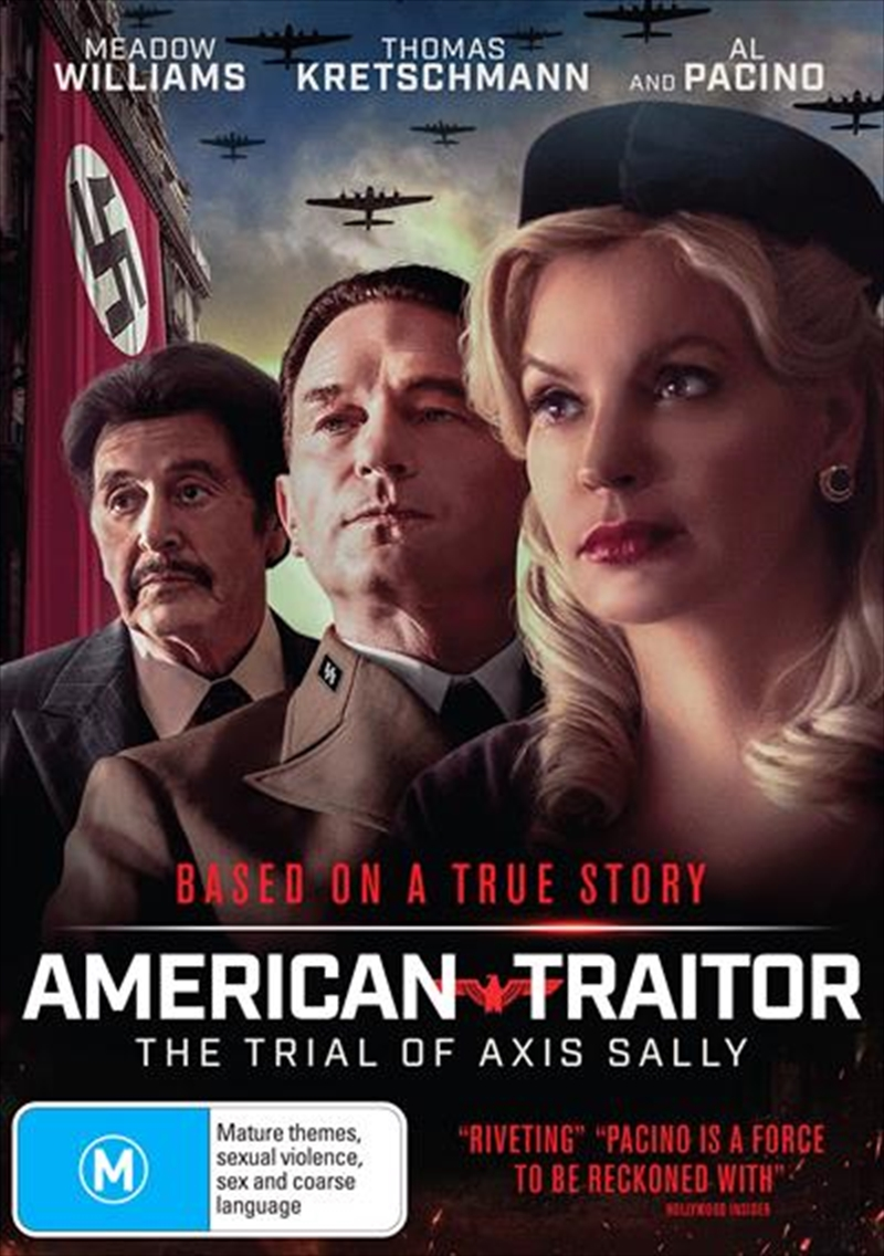 American Traitor - The Trial Of Axis Sally   DVD
