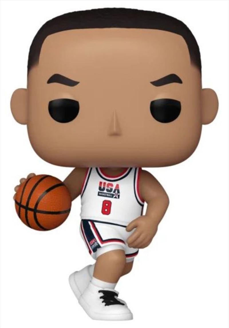 NBA: Legends - Scottie Pippen 92 Team USA US Exclusive Pop! Vinyl [RS]   Pop Vinyl
