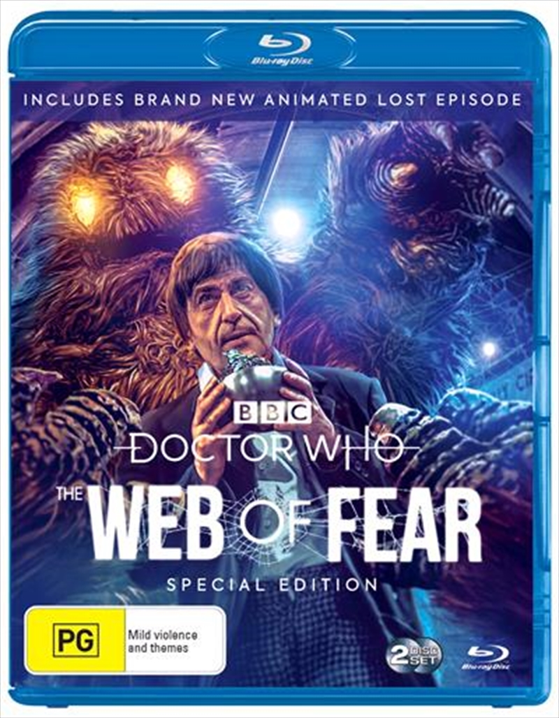 Doctor Who - The Web Of Fear   Blu-ray