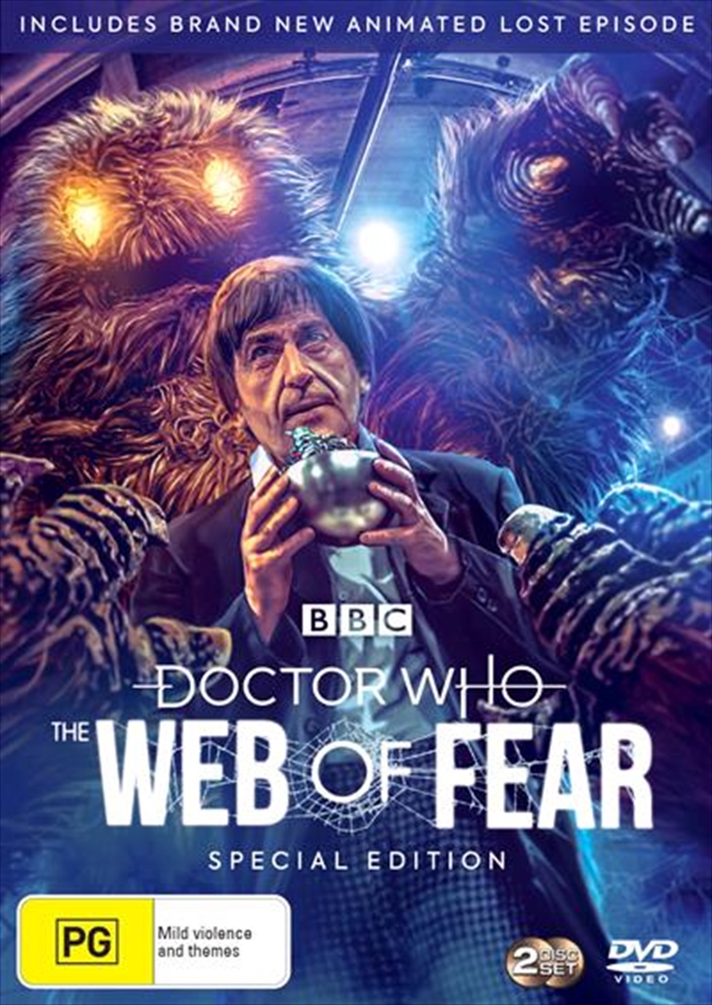Doctor Who - The Web Of Fear   DVD