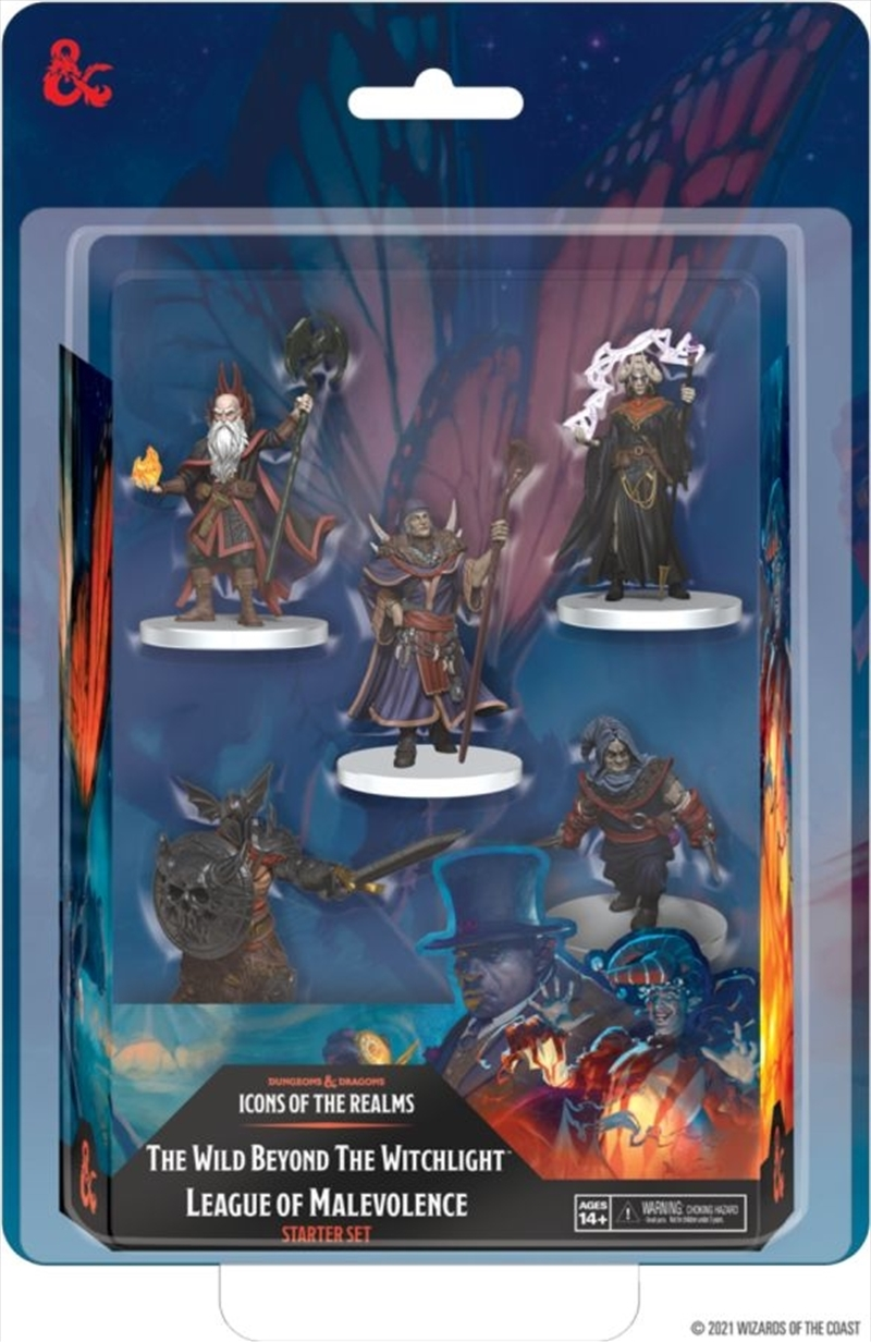 Dungeons & Dragons - Icons of the Realms Set 20 Wild Beyond the Witchlight League of Malevolence   Games
