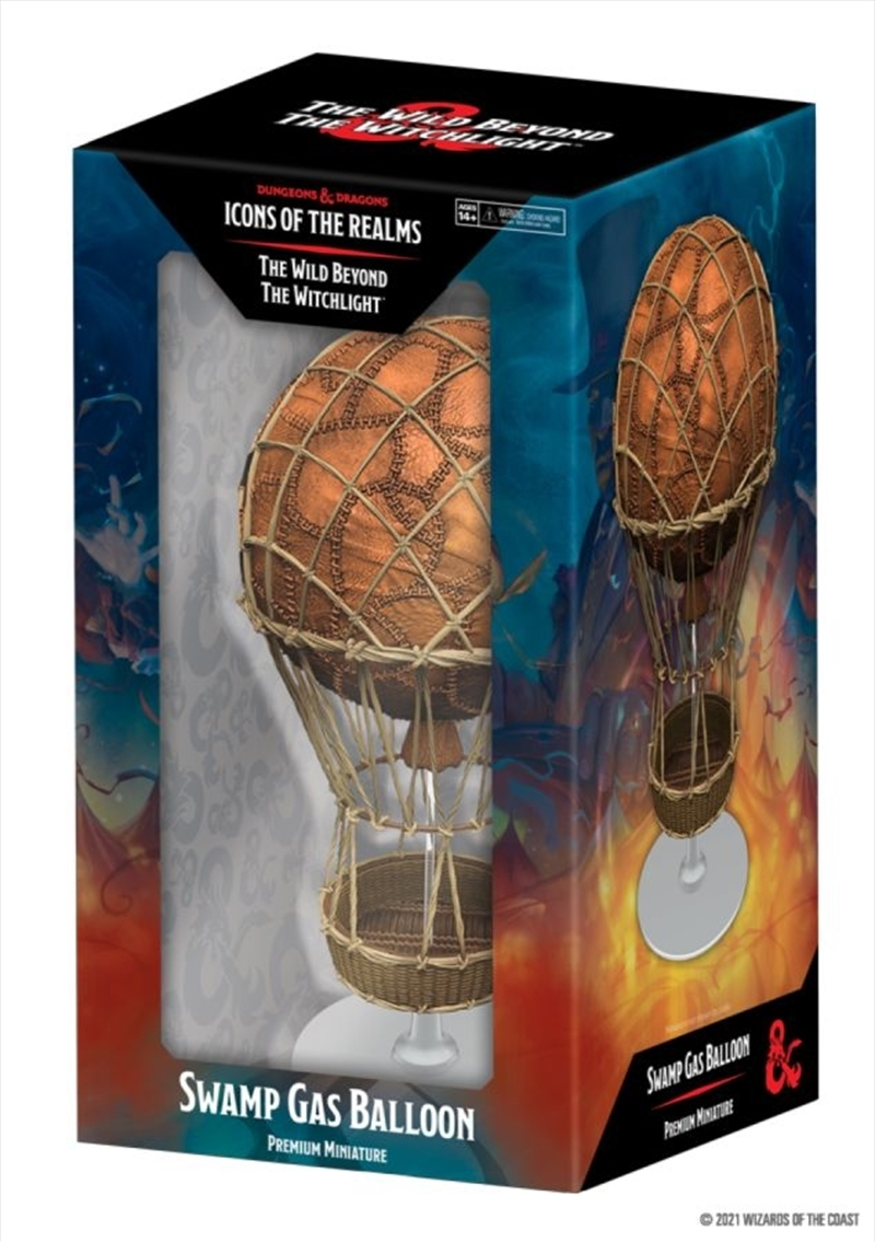 Dungeons & Dragons - Icons of the Realms Set 20 Wild Beyond the Witchlight Swamp Gas Balloon   Games