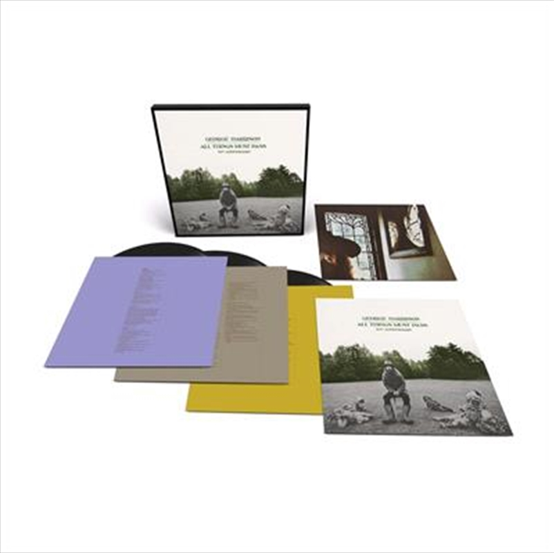 All Things Must Pass - 50th Anniversary Edition   Vinyl