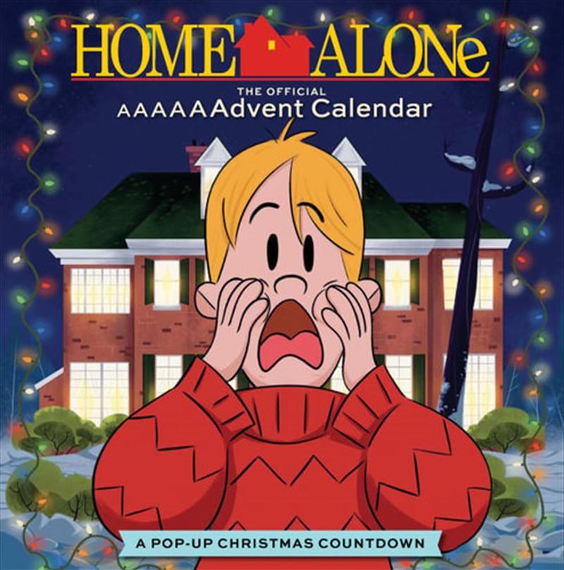 Home Alone Official Pop Up Advent Calendar   Books