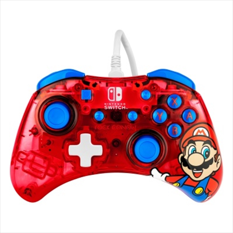 Switch Rock Candy Wired Controller Mario | Nintendo Switch