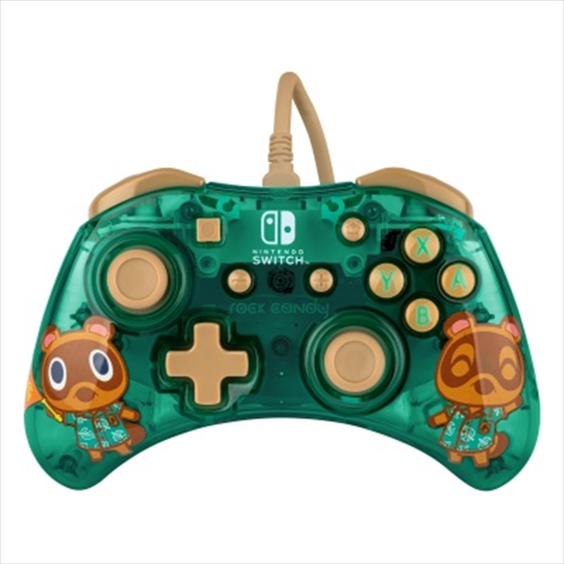 Switch Rock Candy Wired Controller Animal Crossing | Nintendo Switch