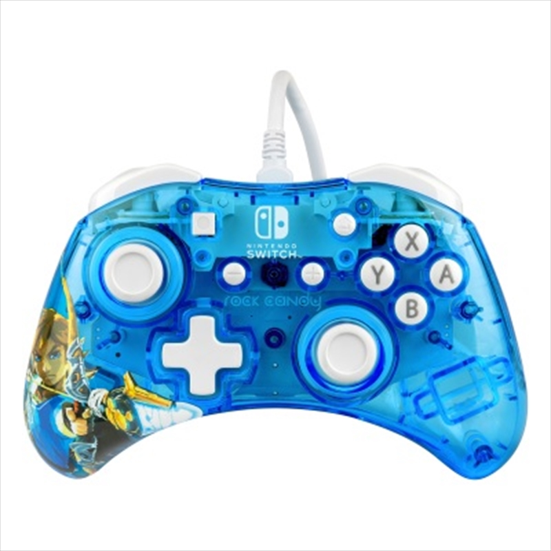 Switch Rock Candy Wired Controller Legend of Zelda | Nintendo Switch