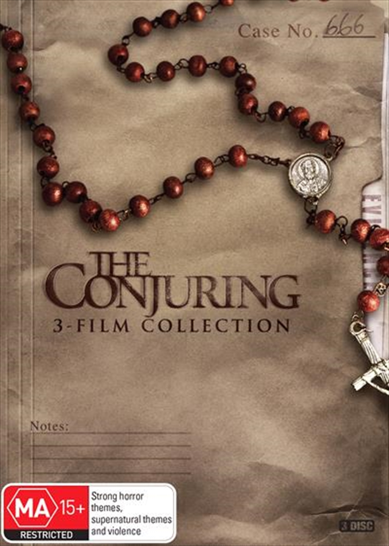 Conjuring   3-Film Collection, The   DVD