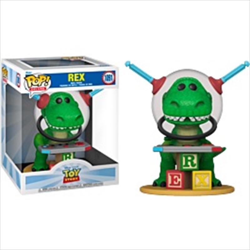 Toy Story - Rex US Exclusive Pop! Deluxe [RS]   Pop Vinyl