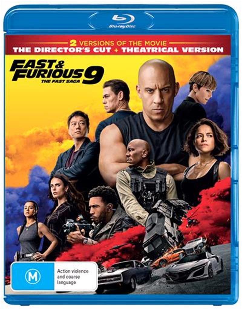 Fast and Furious 9 - The Fast Saga   Blu-ray