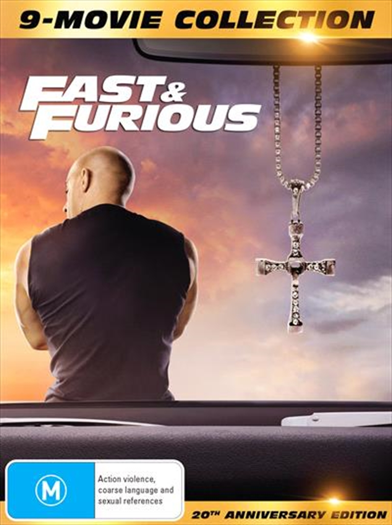 Fast and Furious 1-9 - Limited Edition   Digipack - 9 Movie Franchise Pack   DVD
