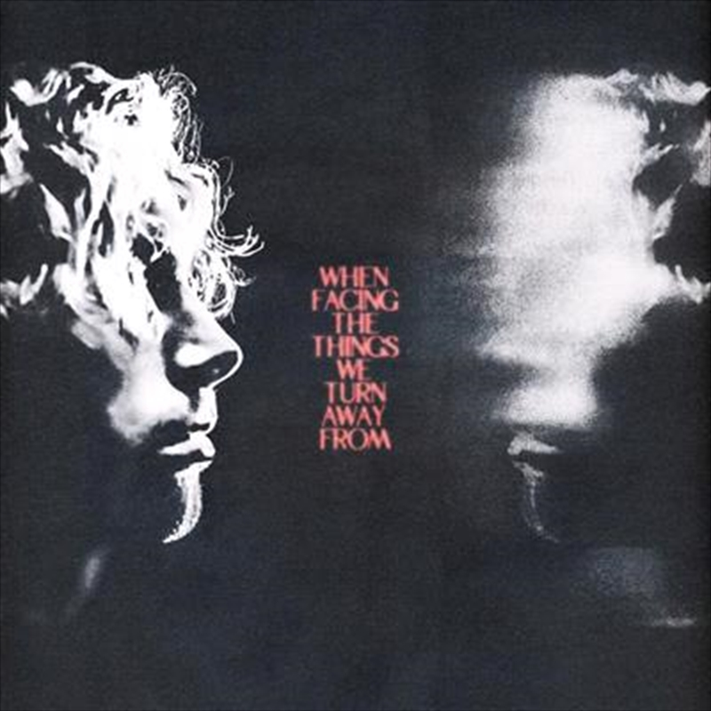 When Facing The Things We Turn Away From - BONUS LITHOGRAPH | CD