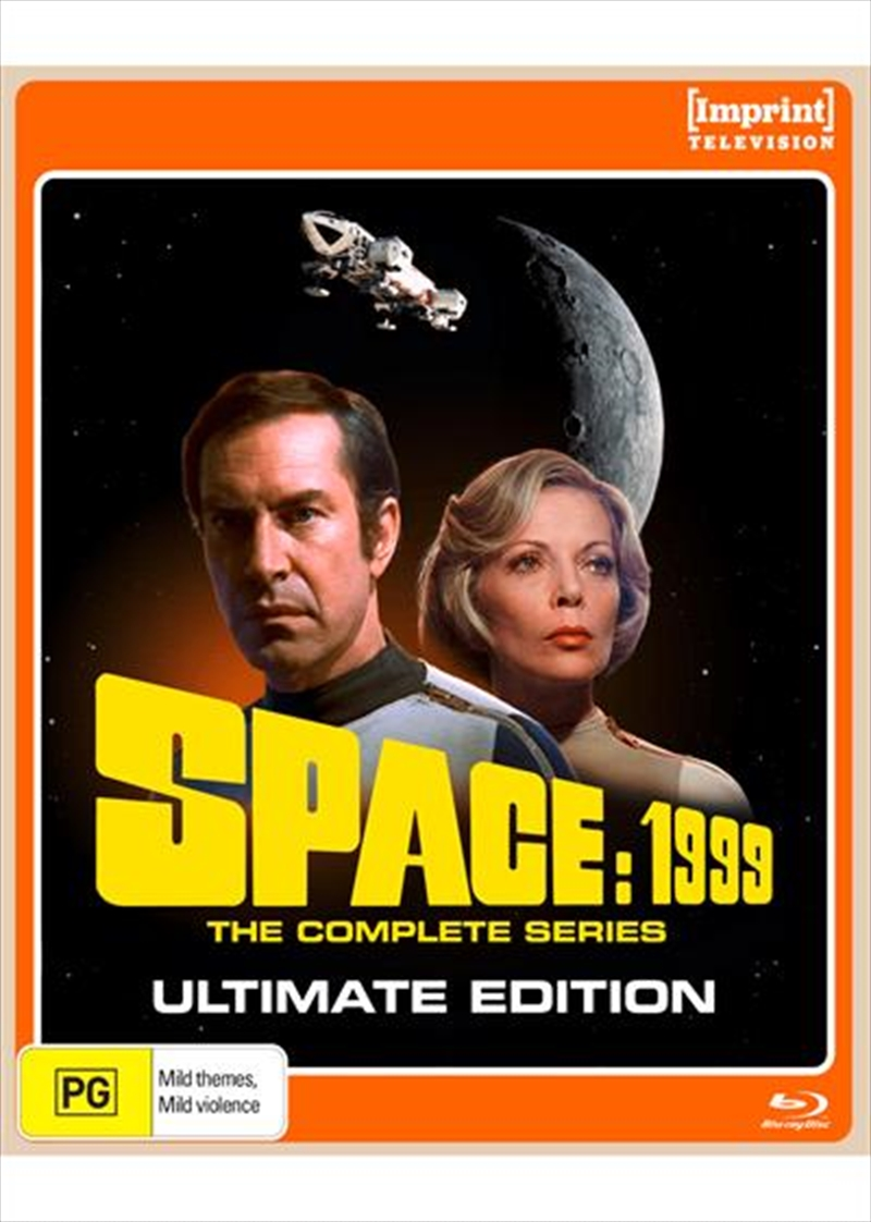 Space 1999 - Ultimate Edition   Complete Series - Imprint Collection   Blu-ray