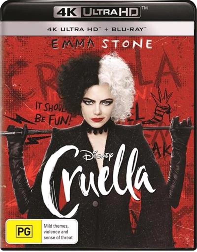 Cruella   Blu-ray + UHD   UHD