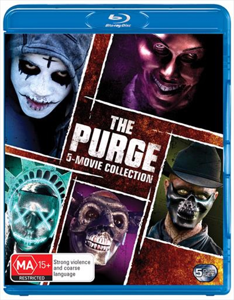 Purge / The Purge - Anarchy / The Purge - Election Year / The First Purge / The Forever Purge | 5 Mo | Blu-ray