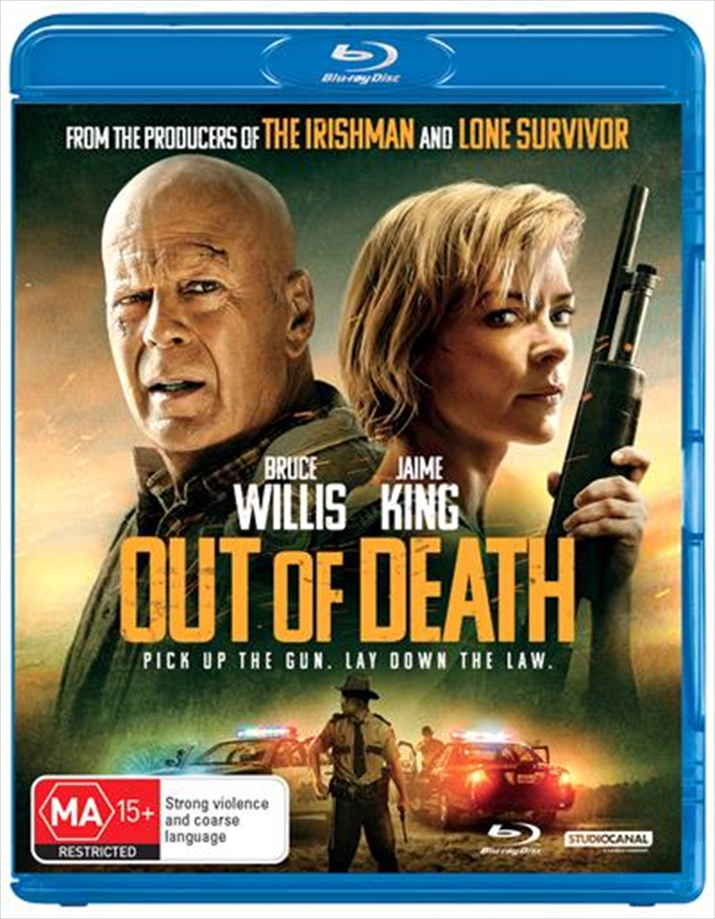 Out Of Death   Blu-ray