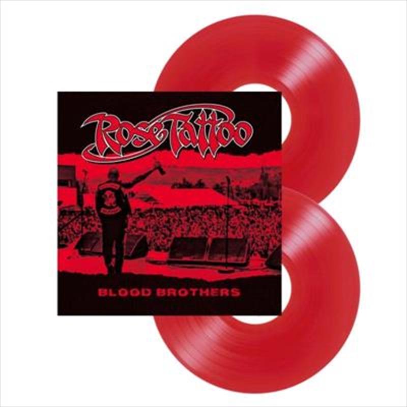 Blood Brothers - Blood Red Vinyl   Vinyl