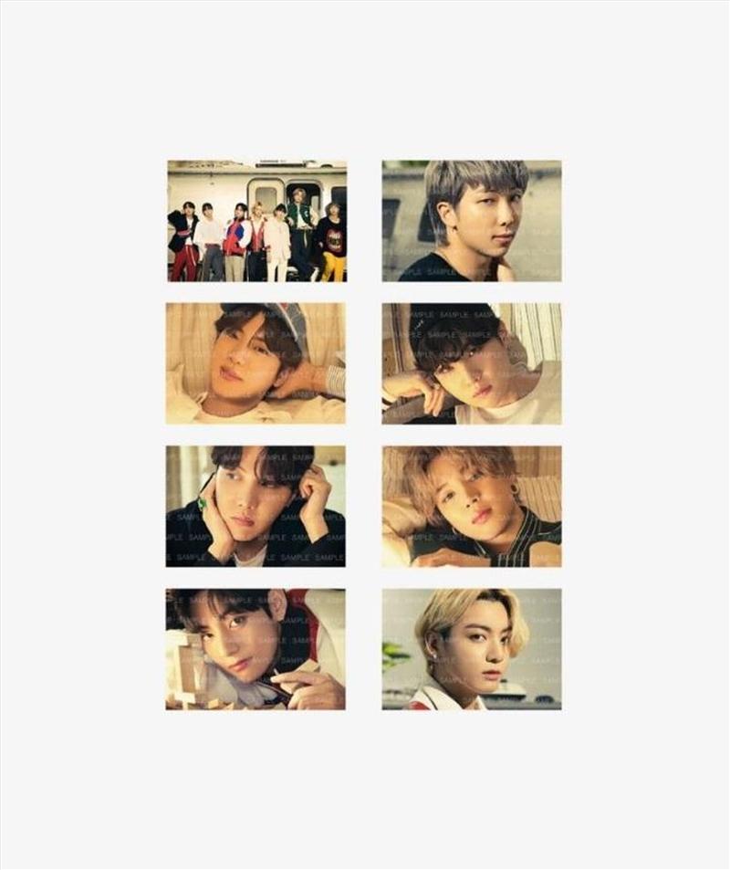 BTS - BEST POSTCARD SET ORANGE   Merchandise