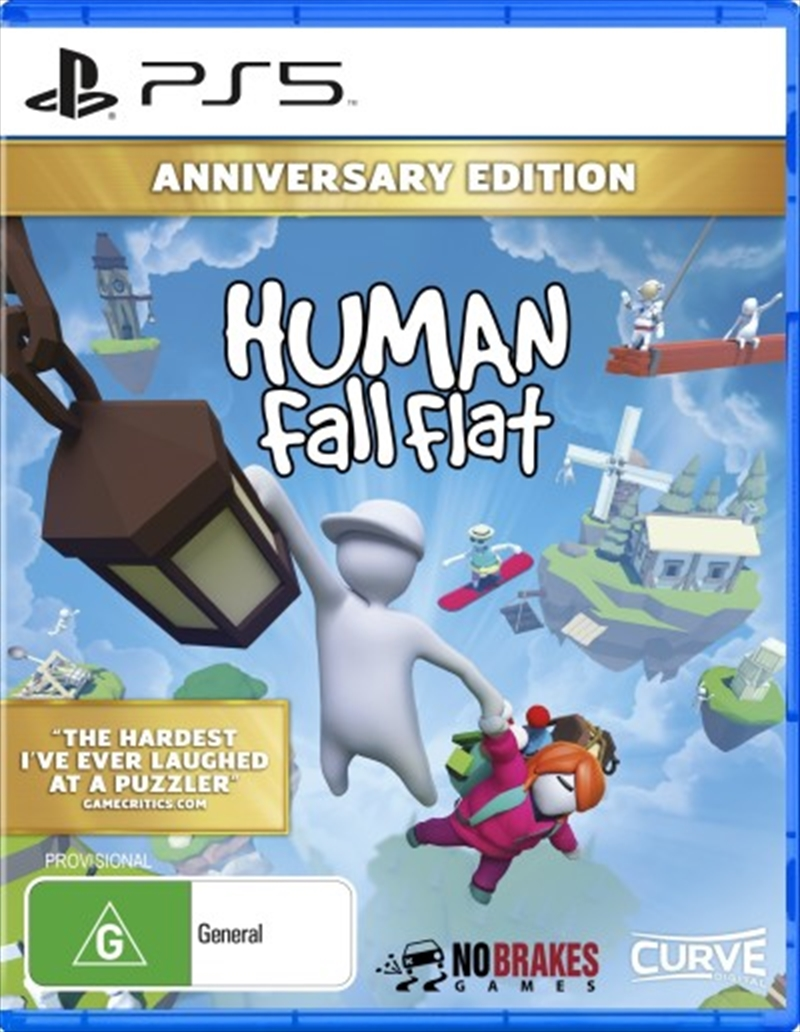 Human Fall Flat Anniversary Edition | Playstation 5